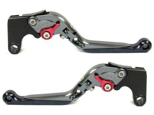 Folding Brake Clutch Levers for BMW F800GS/Adventure 2008-2016,F800R 2009-2016,F800GT 2013-2016,F800ST 2006-2015,F800S 2006-2014,F700GS 2013-2016,F650GS 2008-2012