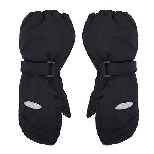 Affordable Cher9 Winter Outdoor Children Ski Gloves, Thick Warm Windproof Waterproof Kids Mittens