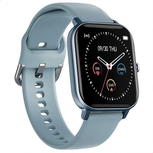 BINDEN Smartwatch P8 Reloj Inteligente con Pantalla Touch a Color 1.4 Pulgadas Muestra Notificaciones y Llamadas Monitor Multideportes...