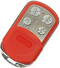 Universele afstandsbediening voor poorten, rood, kopie rechtstreeks met vaste code, 433,92 MHz + kopieerhandleiding (mogel...