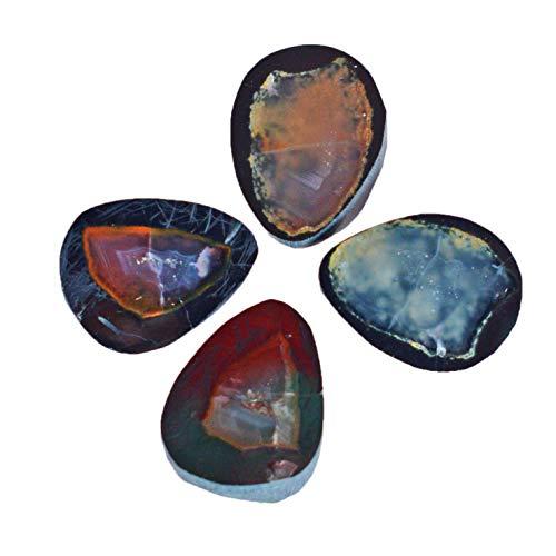Mini geoda ágata drusa forma de pera floja lote de piedras preciosas para la fabricación de joyas, proveedor de piedra 23930