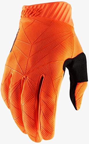 100% Erwachsene Ridefit Handschuhe(Neon Orange Schwarz, L)