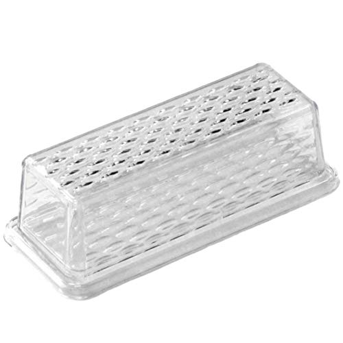 Chef Craft Plastic Butter Dish, One Size, Clear