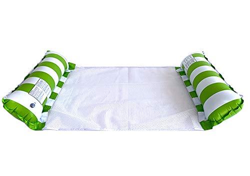HSY SHOP 2 Piezas 2021 Hamaca de Agua, Piscina, Playa, reclinable Flotante, Hamaca de Agua Inflable, Cama Flotante, sillón, Flotador, Piscina, Playa, Flotador (Color : Random Color)
