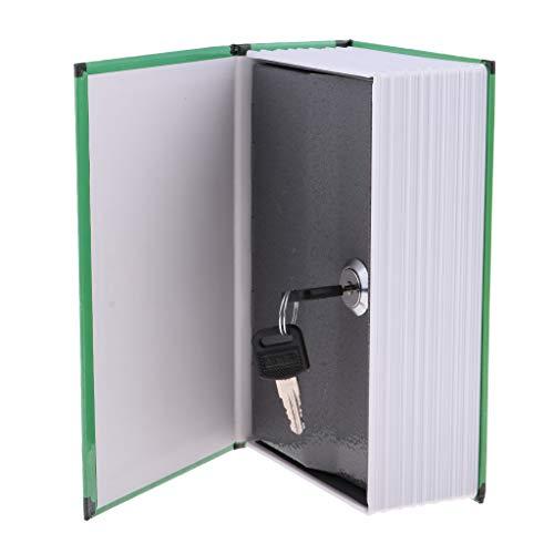 Hidden Book Safe Lock Secret Money Hollow Book Wall Hide Dancer - key-Sea,...