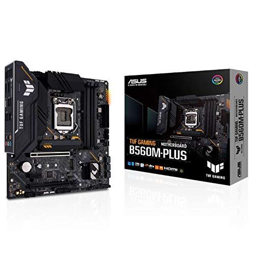 ASUS INTEL B560 第10世代・11世代 CPU(LGA1200)対応 B560 チップセット MicroATX マザーボード TUF GAMING B560M-PLUS【国内正規代理店】