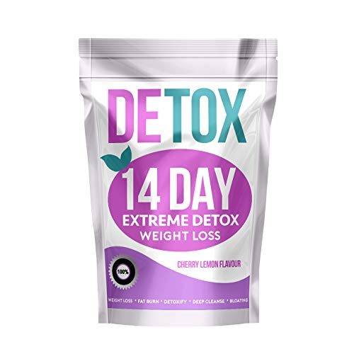 Extreme 14 Day Botanical Tea - Compatible with Diet Plans (Cherry Lemon...