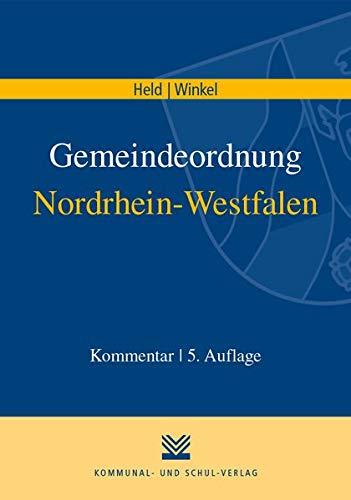 Gemeindeordnung Nordrhein-Westfalen: Kommentar