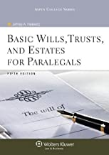 Basic Wills Trusts & Estates for Paralegals, 5th Edition (Aspen College) by Jeffrey A. Helewitz (2011-03-31)
