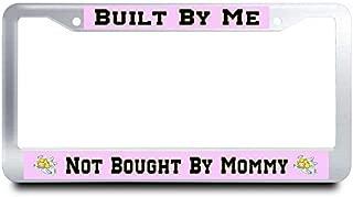 AUdddflicenshf License Plate Frame Cute License Plate Frame Customized AluminumL Metal License Plate Frame