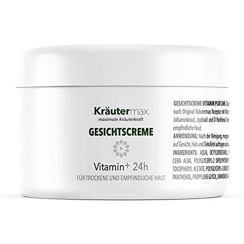 Vitamin Gesichtscreme Gesichtspflege Creme Gesicht mit Vitamin E Natürlich 1 x 100 ml