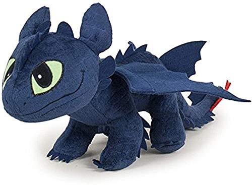 HTTYD 2 Figura Peluche Dragon DESDENTADO Furia Nocturna DESDENTAO como Entrenar A TU Dragon Pelicula Animacion Original 34cm