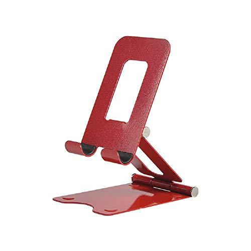 Soporte plegable universal para teléfono celular y tableta, soporte de escritorio ajustable compatible con todos los teléfonos