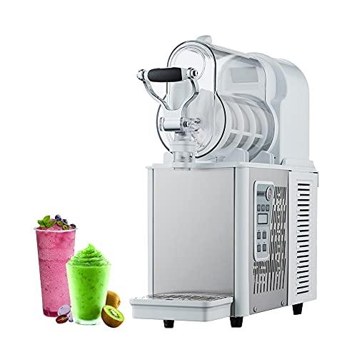 Máquina de granizado comercial y doméstica, máquina de bebida congelada de granizado de hielo de 3 litros Máquina de margarita de jugo de enfriamiento con limpieza y conservación automáticas