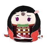 NUWIND Anime Demon Slayer Kimetsu No Yaiba Figuras de muñeca de peluche Kamado Nezuko Tanjirou Plushie Peluche Llavero Decoración Regalos Niños Halloween Cosplay Props (Kamado Nezuko, 20cm)