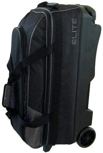 Elite 3 Ball Rolling Bowling Bag Silver product image