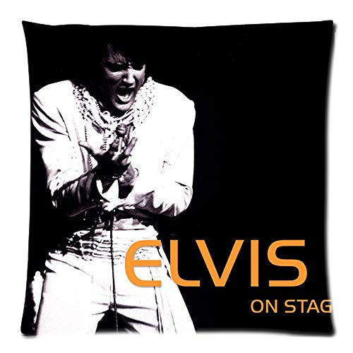 CHUIBIN Elvis Presley Decorative Cushion Cover Cotton Linen Sofa Throw Pillow Fundas Decorativas para Almohada Case 2016 Custom Cojines 20'x20'(50x50cm)