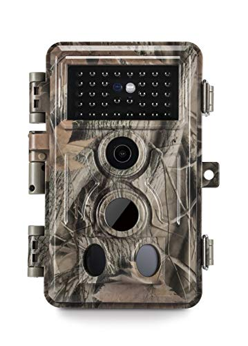 "Meidase Trail Camera 16MP 1080P, Game Camera with No Glow Night Vision Up to 65ft, 0.2s Trigger Time Motion Activated, 2.4"" Color Screen and Unique Keypad, Waterproof Wildlife Hunting Camera..."