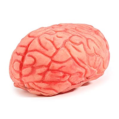 Amazon - Save 50%: ONEDONE Soft Bloody Brain Mold Horror Halloween Prop