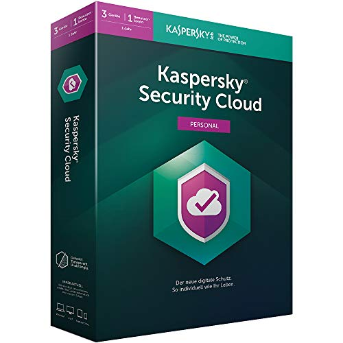 Kaspersky Security Cloud Personal Edition 3 Geräte (Code in a Box). Für Windows 7/8/10/MAC/Android