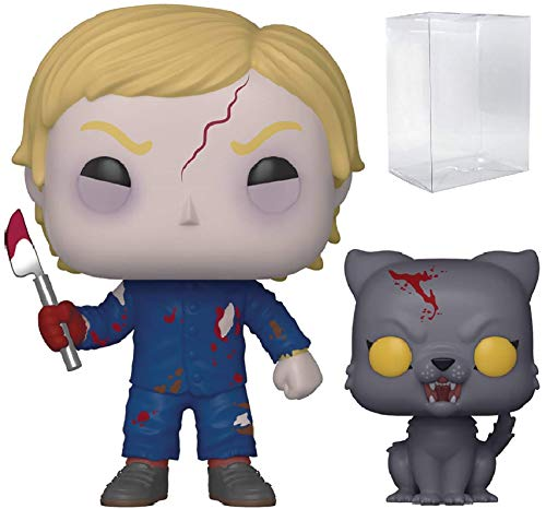 Funko Pop! Movies: Pet Sematary - Undead Gage and Church Pop! Vinyl Figure (Includes Compatible Pop Box Protector Case)