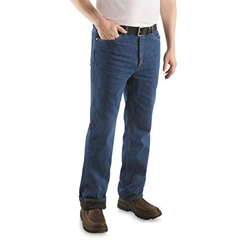 Guide Gear Men's Sportsman's Fleece-Lined Jeans, Medium...