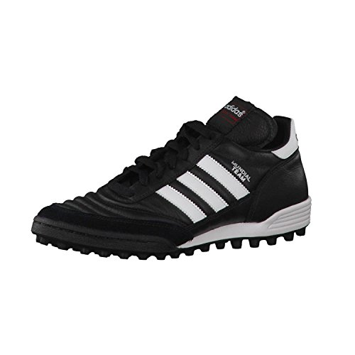 adidas Originals Mundial Team, Botas de fútbol Unisex Adulto, Black/Running White FTW/Red, 44