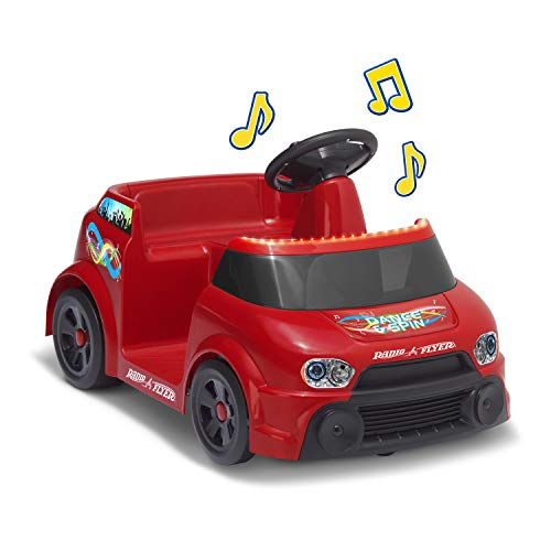 DJ Dance and Spin, Toy Electric Ride On, Battery Powered Dancing Car, Ages 1 1/2 to 4 Years