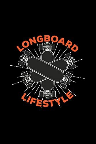 Longboard lifestyle: 6x9 Longboard | blank with numbers paper | notebook | notes