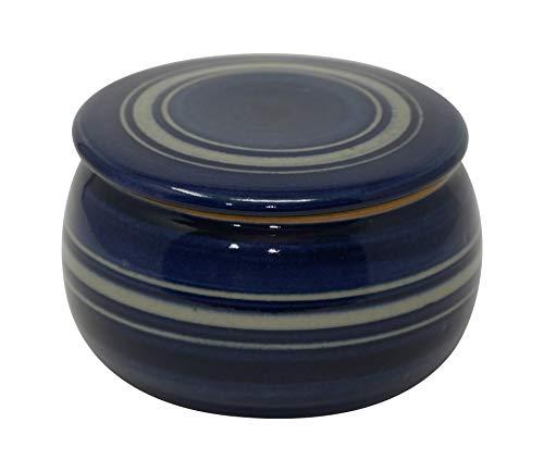 original französische wassergekühlte Keramik butterdose, nie mehr Harte Butter zum frühstück, 125gr, c3 Bauch klein