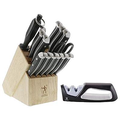 J.A. Henckels International Statement 15-pc Knife Block Set with sharpener