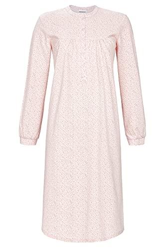 Ringella Damen Nachthemd mit Knopfleiste Crystal Rose 54 1511011,Crystal Rose, 54