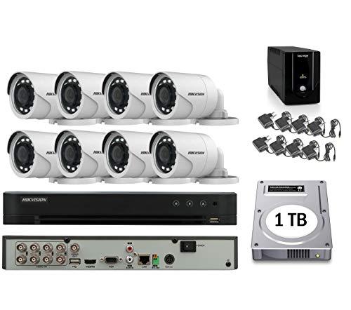 kit videosorveglianza hikvision 8 canali online
