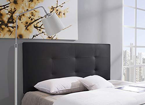 Marckonfort - Carla Kopfteil für Bett, 160 X 60 X 8 CM Farbe schwarz
