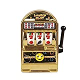 LovelysunshiDEany Lustiges Spielzeug Metall Mini Lucky Slot Machine Entertainment-Tool zum Spaß -...