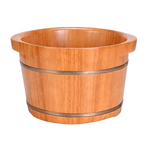 CANDYANA voetbad vatbad badkuip voor voetmassage whirlpool sauna natuur hydromassage voetbad naturel