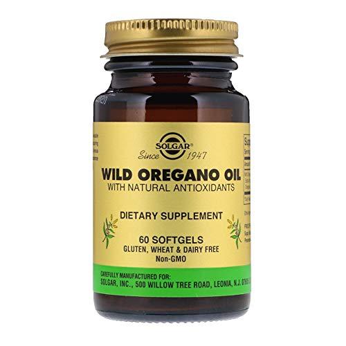 Solgar Wild Oregano with Natural Antioxidants 60 Soft Capsules