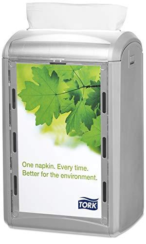 Tork 272513 Distributeur pour serviettes en papier Xpressnap / Comptoir N4 - Design Signature - Gris clair