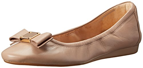 Cole Haan Women's Tali Bow Ballet Flat, Maple Sugar Leather, 7 B US