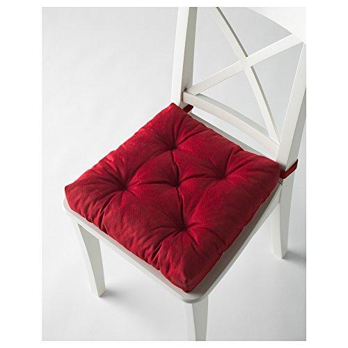 Ikeas MALINDA Chair cushion (4, Red…