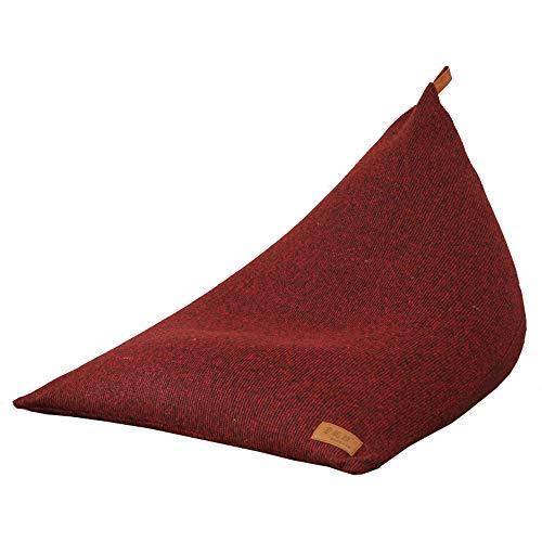 JOMSK Bequem gepolstert Lazy Sofa Toy Bag Bodenliege für Kinder Teens und Adult-Storage Bean Bag Chair (Color : Blue, Size : 90 * 120 * 90cm)