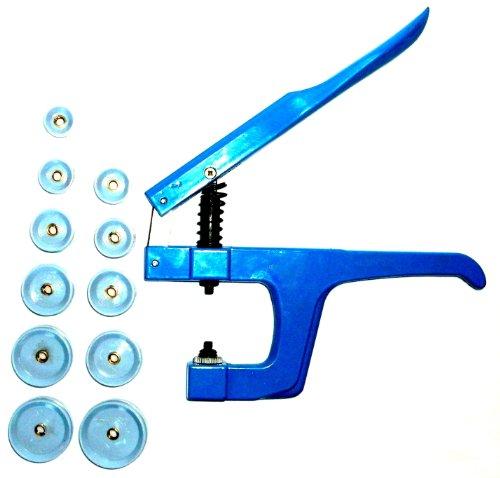 Uhrwerkzeug Einpresswerkzeug Uhrenschließer 11 Druckplatten Kunststoffeinsätze