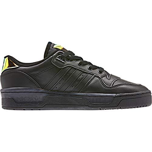adidas Rivalry Low W Baskets Mode Femme Noir, 39 1/3