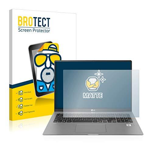 BROTECT Entspiegelungs-Schutzfolie kompatibel mit LG Gram 17'' 2020 Bildschirmschutz-Folie Matt, Anti-Reflex, Anti-Fingerprint