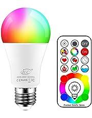Gloeilamp met afstandsbediening, kleurverandering, LED-lamp