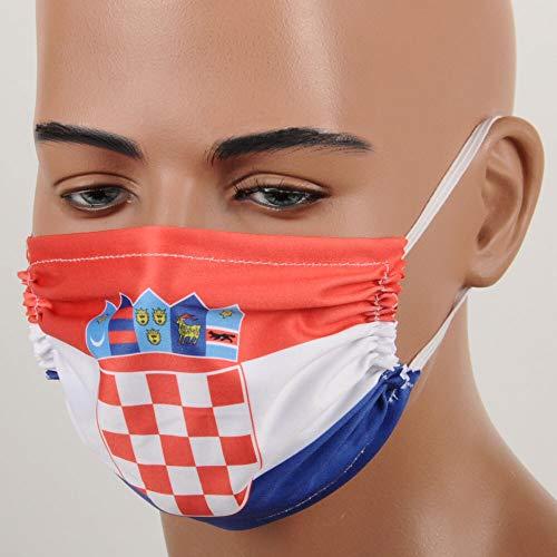 Gesichtsschutz, Kroatien Design, wiederverwendbar