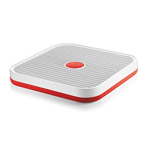 Afdruiprek rood 360x360x50mm Guzzini 29050055 My Kitchen