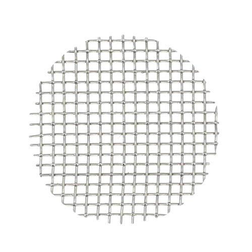 Aryva Rejilla Cedazo Filtro por Bong y Cachimba deMallatupida   Diámetro Ø = 20 mm   por Bongs y pequeñas Cazoletas Cabezal Narguile   Pack de 5 (20mm)