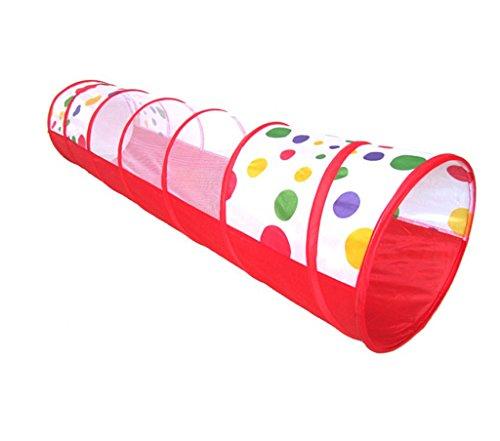 Z-w-dong Carpas de combinación al aire libre, patio de juegos portátil para niños Orificios de perforación para niños Cubeta de arrastre Piscina de bola inflable plegable Movimiento Habitación de jugu