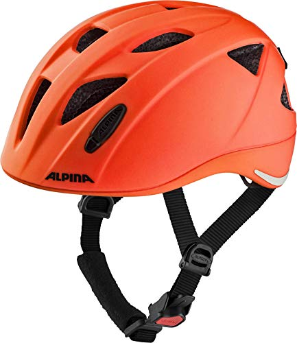 ALPINA XIMO LE Fahrradhelm, Kinder, red spot, 47-51